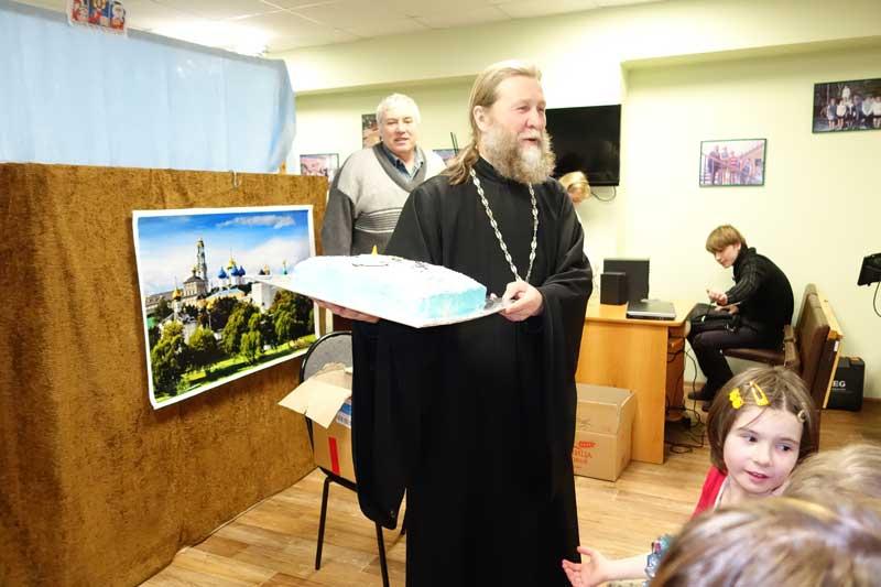 Встречали  гостей из Князь-Владимирского собора